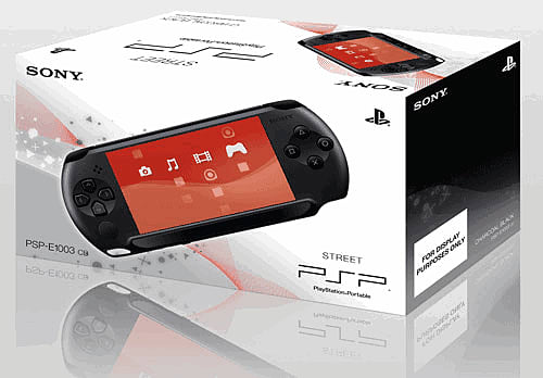 Sony PSP - Like a PlayStation but, y'know, portable