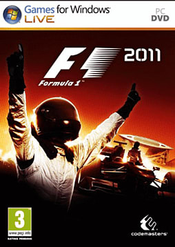 Formula 1 2011 PC Games Cover Art