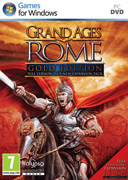 Grand Ages Rome Gold Edition PC Games Cover Art