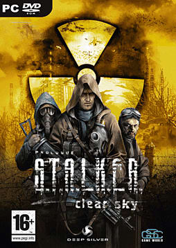S.T.A.L.K.E.R Clear Sky PC Games Cover Art
