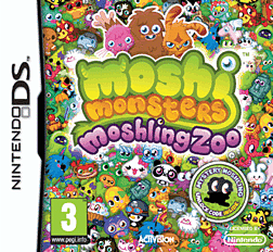 Moshi Monsters: Moshling Zoo DSi and DS Lite Cover Art
