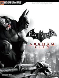 Batman: Arkham City Official Strategy Guide Strategy Guides and Books