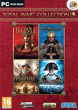 Total War Collection PC Cover Art
