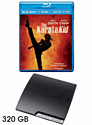 PlayStation 3 320GB Slim with Karate Kid Blu-Ray PlayStation 3