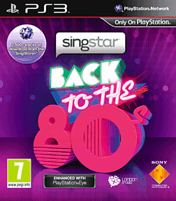 SingStar Back to the 80's PlayStation 3