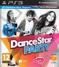 DanceStar Party PlayStation 3 Cover Art