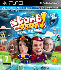 Start the Party! Save the World! PlayStation 3 Cover Art