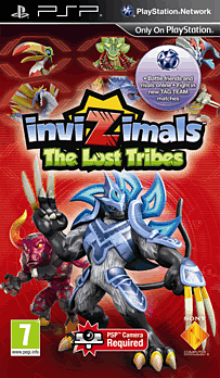 Invizimals: The Lost Tribes PSP Cover Art