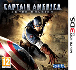 Captain America: Super Soldier 3DS Cover Art
