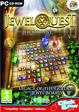 Jewel Quest Heritage PC Games Cover Art