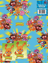 Moshi Monsters Giftwrap & Tags Counter Basket