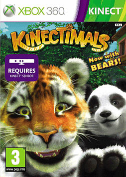 Kinectimals with Bears Xbox 360 Kinect Cover Art