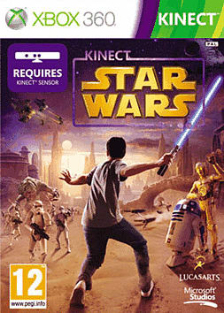 Kinect Star Wars Xbox 360 Kinect Cover Art