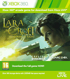 Lara Croft and the Guardian of Light Xbox Live Cover Art