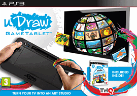 uDraw Studio: Instant Artist Bundle Sony PS3 Cover Art