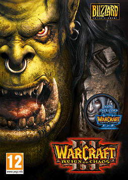 Warcraft III Gold PC Games Cover Art