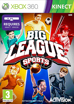 Big League Sports Xbox 360 Kinect
