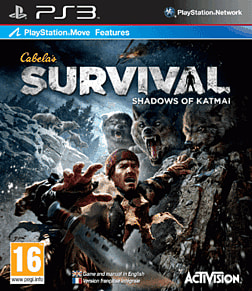 Cabela's Survival: Shadows of Katmai PlayStation 3 Cover Art
