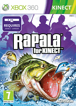 Rapala Kinect Fishing Xbox 360 Kinect Cover Art