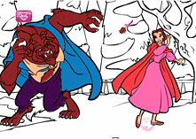 Disney Princess including uDraw Studio screen shot 3