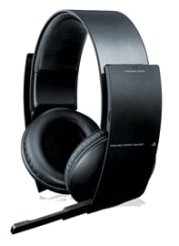 Official PlayStation 3 Wireless Stereo Headset Accessories 