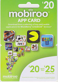 Mobiroo App Card - 20 Gifts 