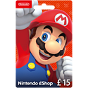 Nintendo eShop Card - £15 Accessories