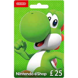 Nintendo eShop Card - £25 Gifts