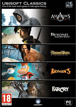 Ubisoft Classics PC Games Cover Art
