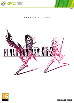 Final Fantasy XIII-2 Crystal Edition Xbox 360 Cover Art