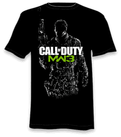Call of Duty: MW3 T-Shirt - Medium Clothing and Merchandise