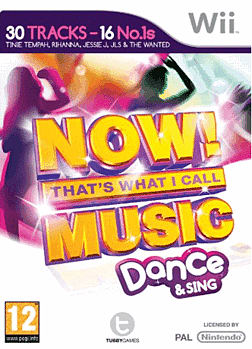 Now Thats What I Call Music: Dance And Sing Wii Cover Art