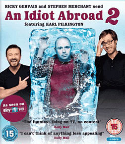 An Idiot Abroad 2 Blu-Ray