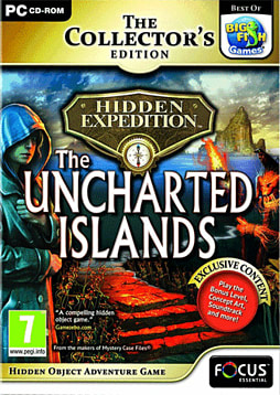 Hidden Expedition 5 - The Uncharted Islands Collector's Edition PC Games Cover Art