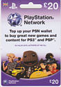 PlayStation Network Card - 20 Gifts