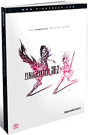 Final Fantasy XIII-2 The Complete Official Guide Strategy Guides and Books