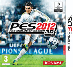 Pro Evolution Soccer 2012 3DS Cover Art