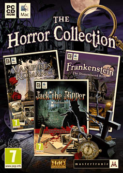 The Horror Collection PC Games Cover Art
