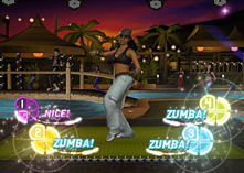 Zumba Fitness 2 screen shot 2
