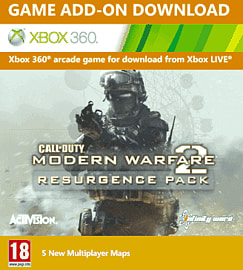 Call of Duty: Modern Warfare 2 Resurgence Pack Xbox Live Cover Art