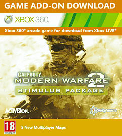 Call of Duty: Modern Warfare 2 Stimulus Package Xbox Live Cover Art