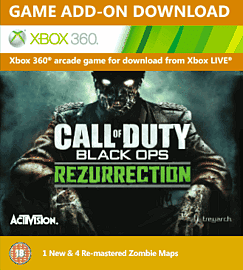 Call of Duty: Black Ops Rezurrection Xbox Live Cover Art