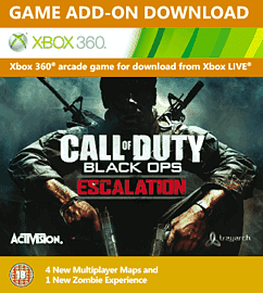 Call of Duty: Black Ops Escalation Xbox Live Cover Art