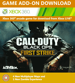 Call of Duty: Black Ops First Strike Xbox Live Cover Art