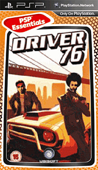 Driver 76 (PSP Essentials) PSP Cover Art