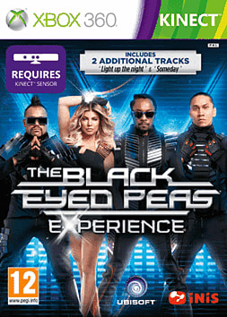 Black Eyed Peas Experience: Special Edition Xbox 360 Kinect Cover Art