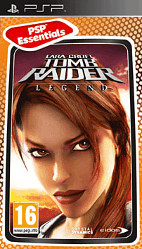Tomb Raider: Legend (PSP Essentials) PSP Cover Art
