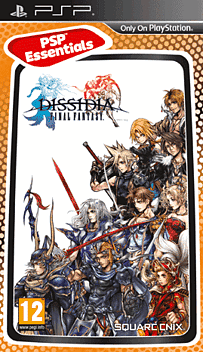 Dissidia Final Fantasy (PSP Essentials) PSP Cover Art