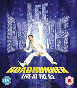 Lee Evans 2011 - Road Runner DVD