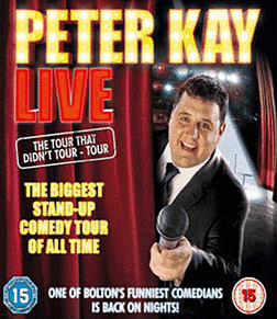 Peter Kay - The Tour That Didn't Tour Tour DVD 